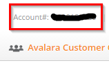 Account Number View
