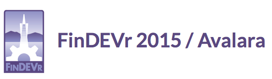 FinDEVr 2015 Avalara